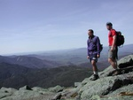 On top of Mount Marcy, New York's Highest Peak