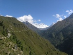 Trail to Tengboche