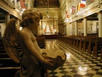 Inside the church - New Orleans, Louisianna